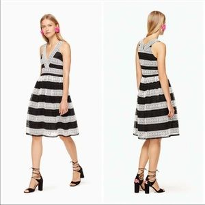 Kate Spade Scenic Route Color Block Lace Dress